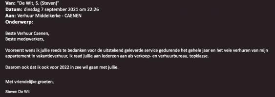 uitstekende service
